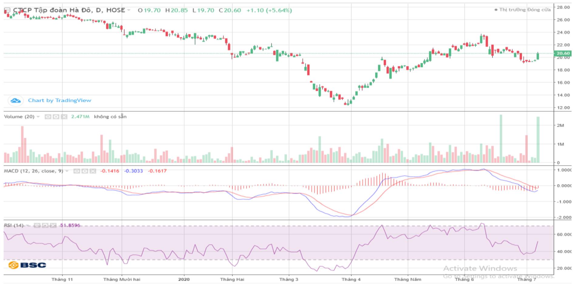 Cổ phiếu tâm điểm ngày 8/7: GEX, HDG, NKG - Ảnh 1.