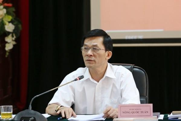 Ông Nông Quốc Tuấn tái đắc cử Bí thư Đảng ủy cơ quan Uỷ ban Dân tộc - Ảnh 1.