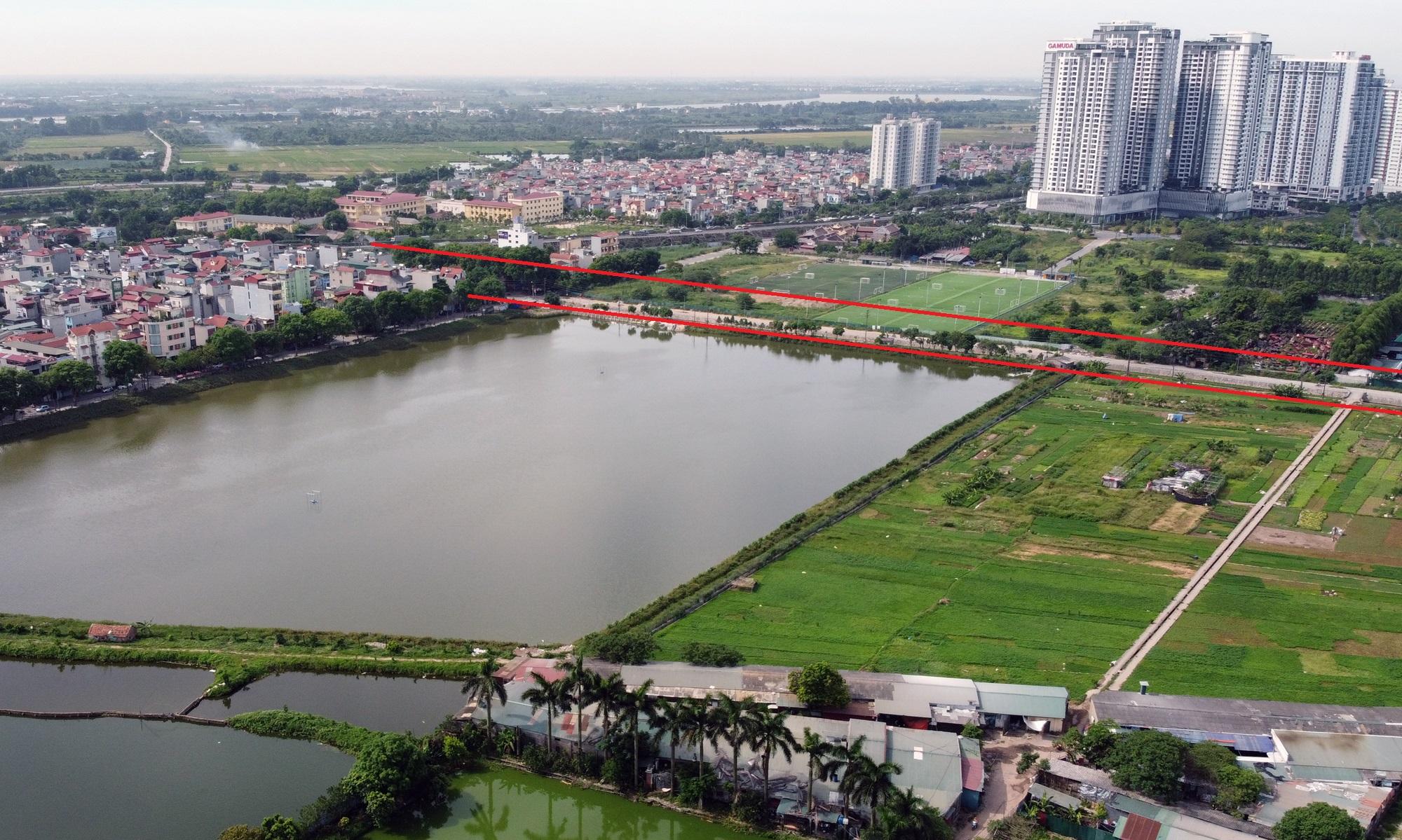 đường sẽ mở theo qui hoạch ở phường Trần Phú, Hoàng Mai, Hà Nội - Ảnh 7.