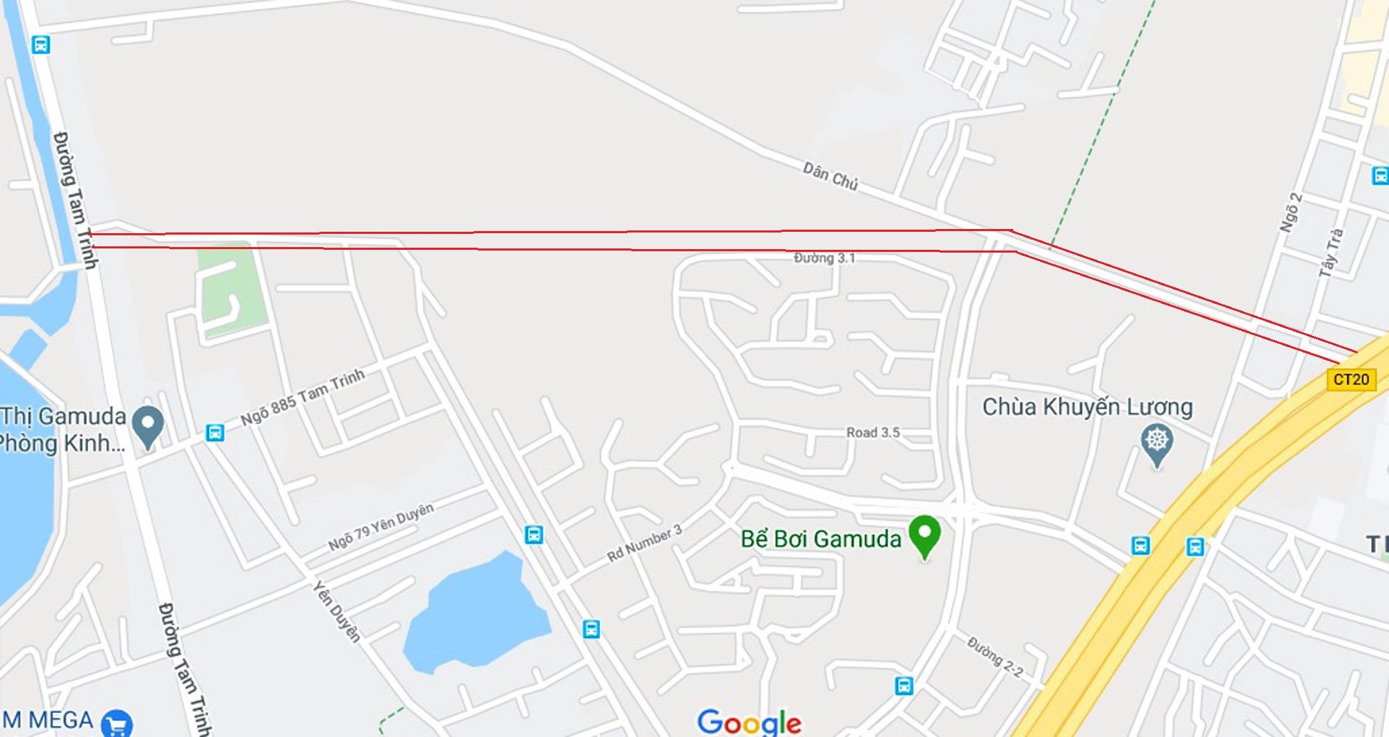 đường sẽ mở theo qui hoạch ở phường Trần Phú, Hoàng Mai, Hà Nội - Ảnh 6.