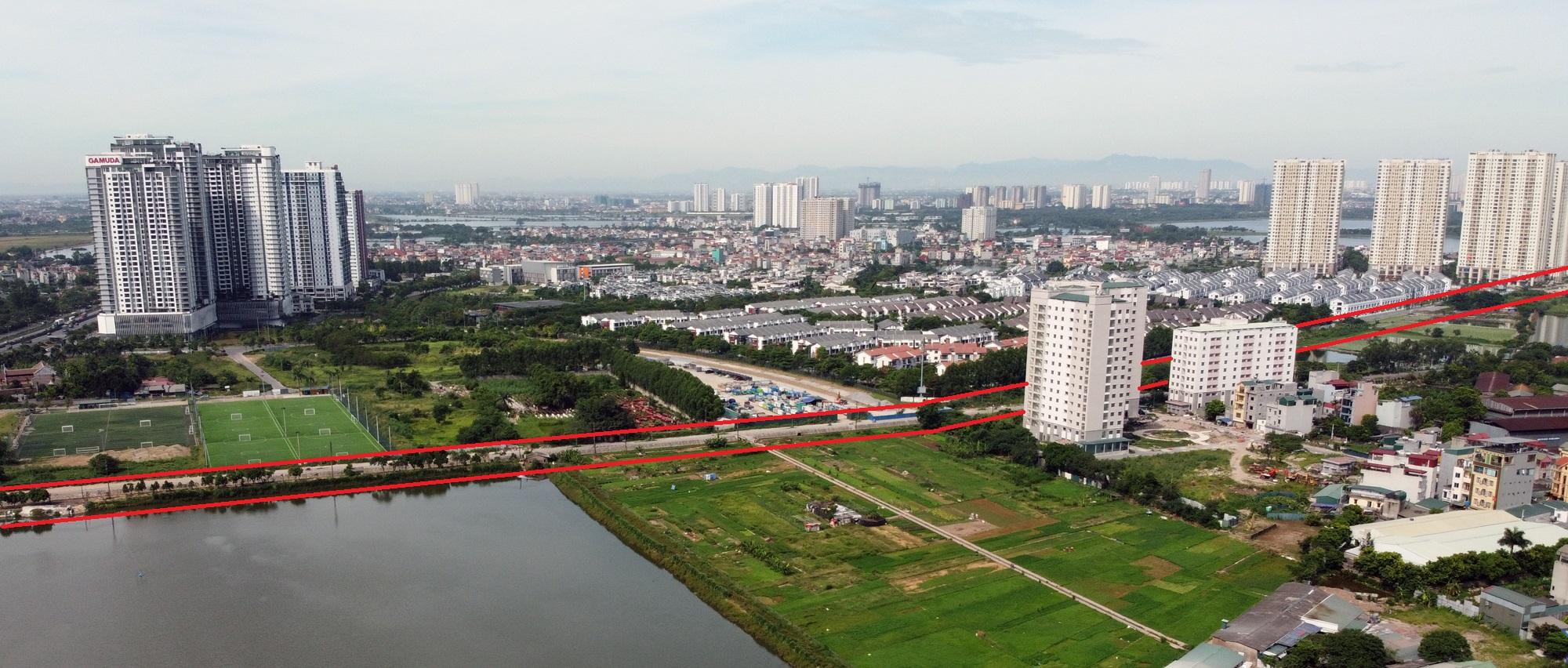 đường sẽ mở theo qui hoạch ở phường Trần Phú, Hoàng Mai, Hà Nội - Ảnh 8.