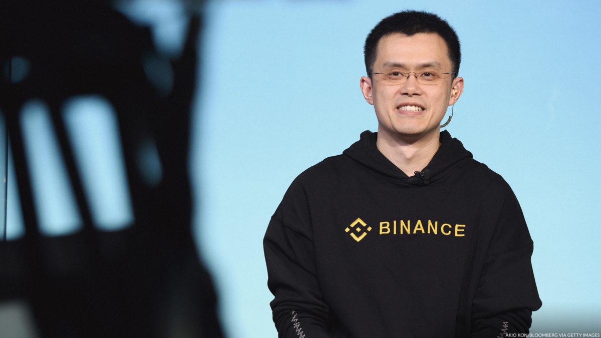 CEO Binance Changpeng Zhao