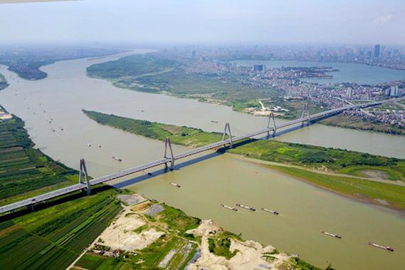Hà Nội kiến nghị tháo gỡ vướng mắc qui hoạch hai bên sông Hồng