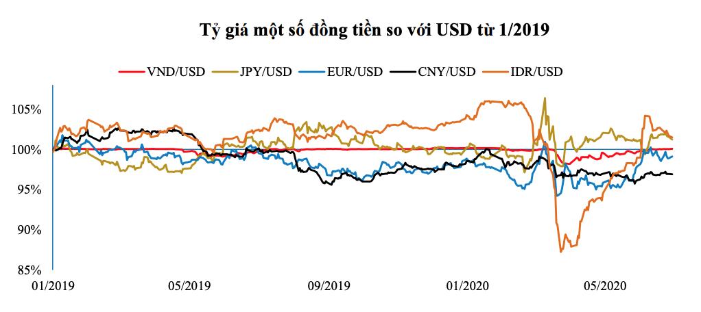 Tỷ giá USD tại Việt Nam 6 tháng đầu năm 2020 ổn định nhất trong khu vực - Ảnh 2.
