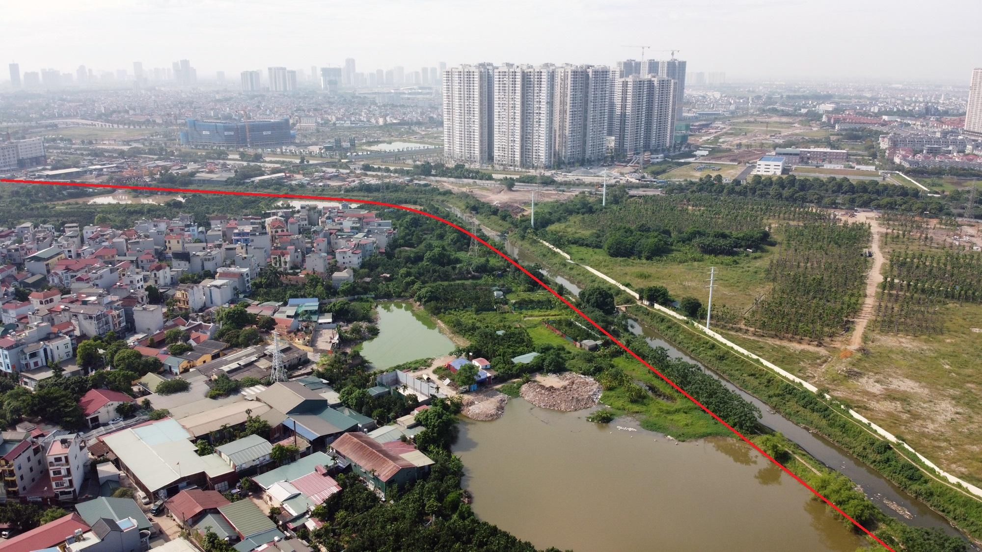Toàn cảnh nơi xây dựng tuyến đường dài 3km trị giá gần 500 tỉ đồng ở quận Nam Từ Liêm - Ảnh 11.