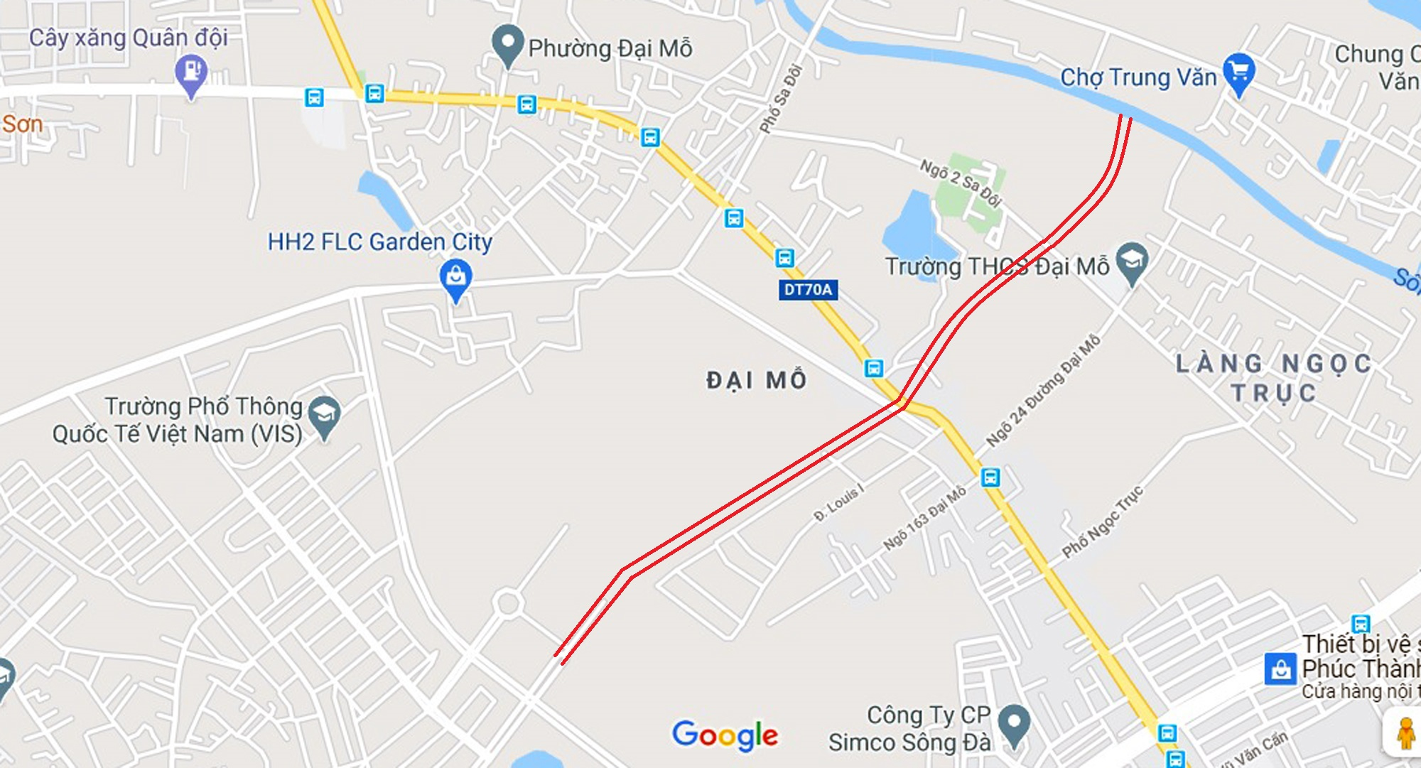 đường sẽ mở theo qui hoạch ở phường Đại Mỗ, Nam Từ Liêm, Hà Nội - Ảnh 7.