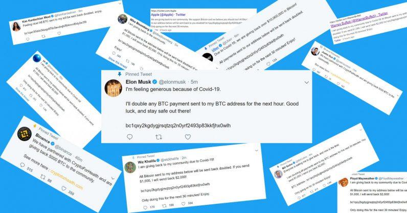 Rất nhiều người nổi tiếng bị tin tặc tấn công tài khoản Twitter và rủ rê giao dịch Bitcoin.