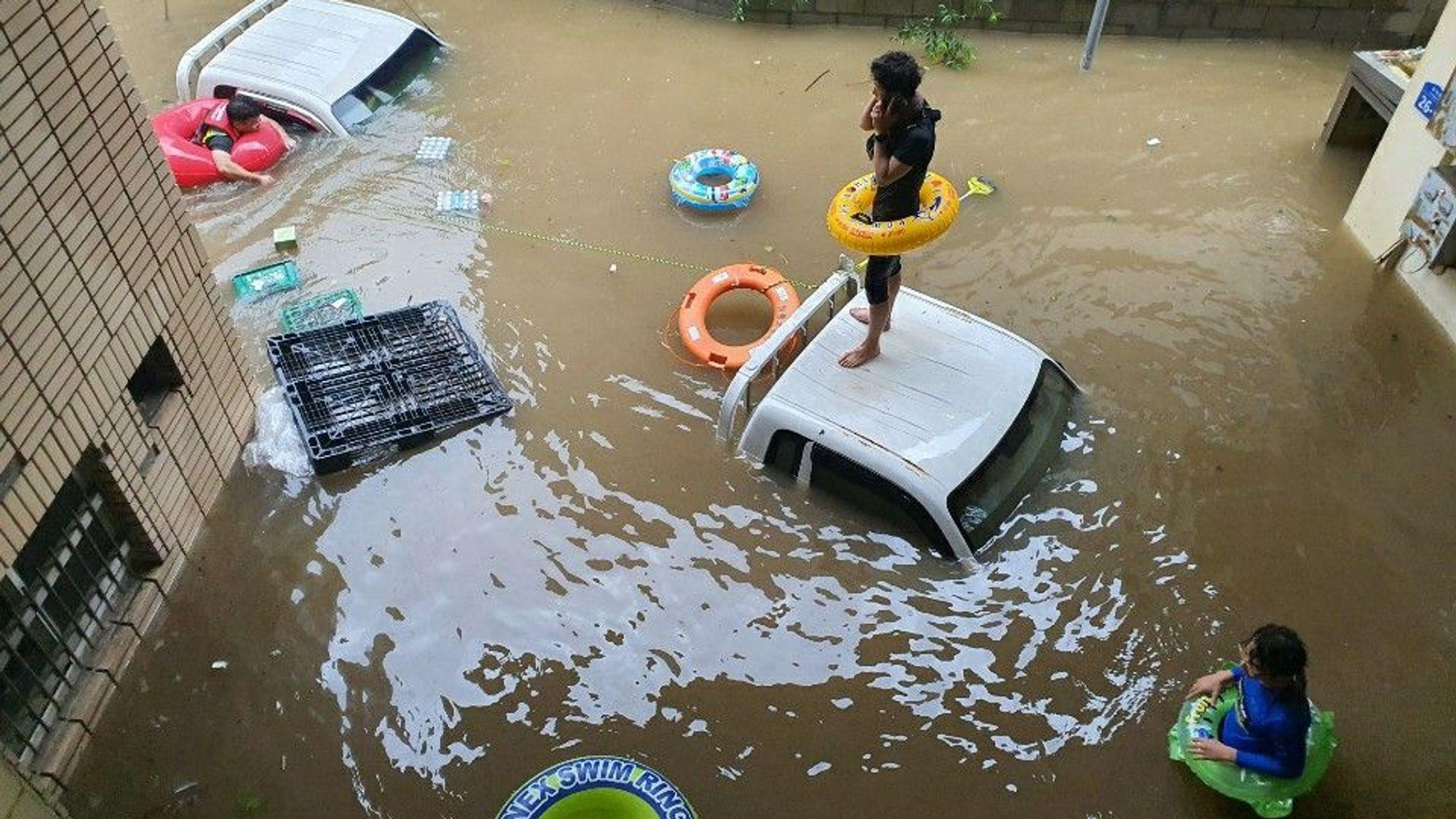 Hàn Quốc cần một quĩ khẩn cấp để khắc phục thiệt hại do mưa lớn - Ảnh 1.