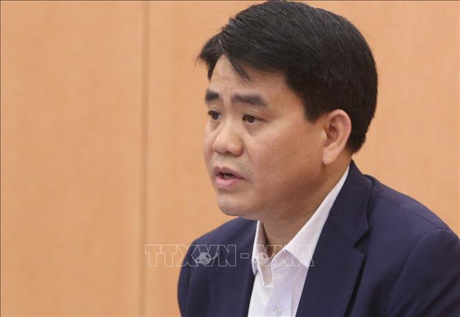 Bộ Chính trị đình chỉ chức vụ Phó Bí thư Thành ủy Hà Nội đối với ông Nguyễn Đức Chung - Ảnh 1.