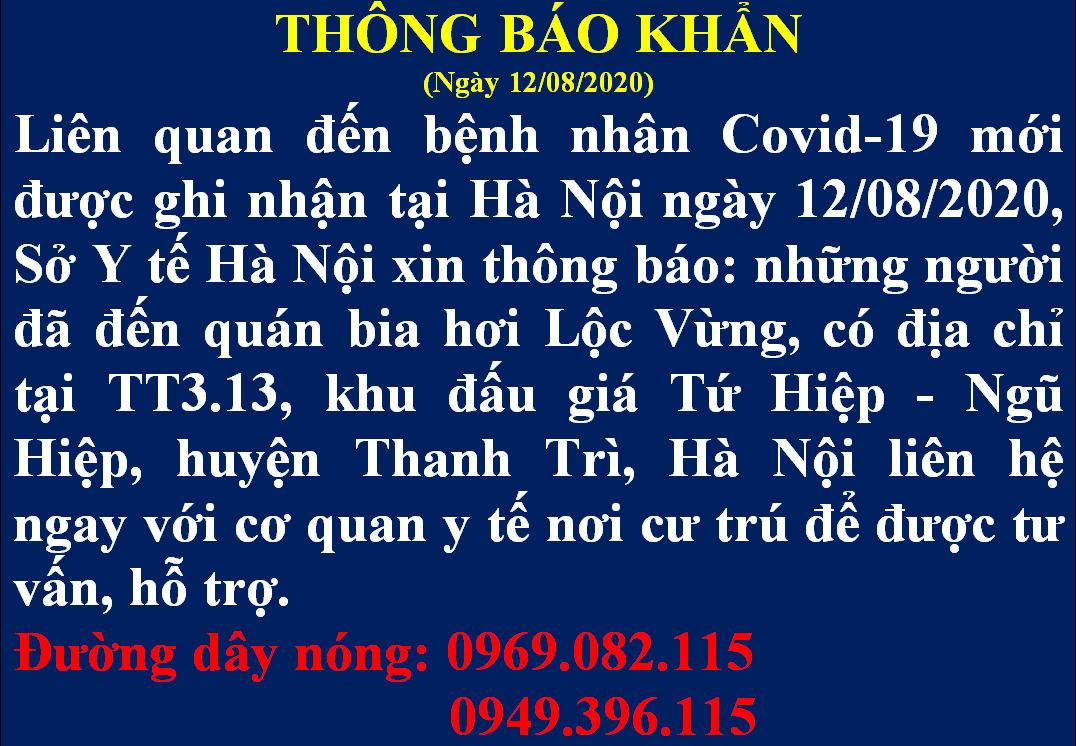 Thông tin về trường hợp nghi nhiễm COVID-19 đến 2 bệnh viện lớn ở Hà Nội - Ảnh 1.