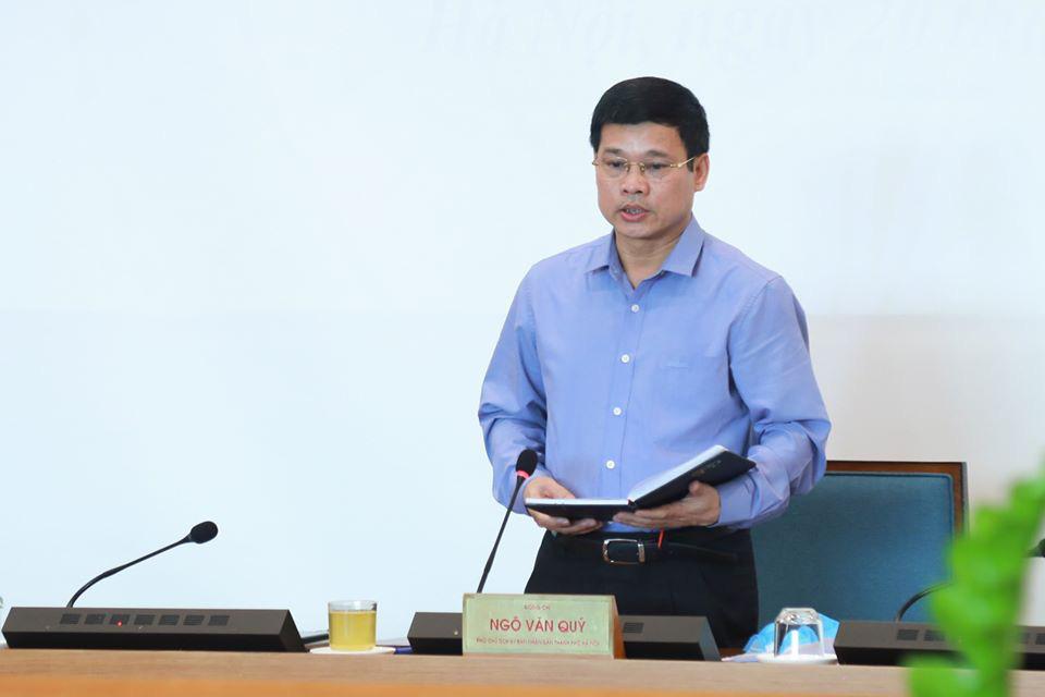 Phó Chủ tịch UBND Hà Nội thay ông Nguyễn Đức Chung tạm thời điều hành chống dịch COVID-19 - Ảnh 1.