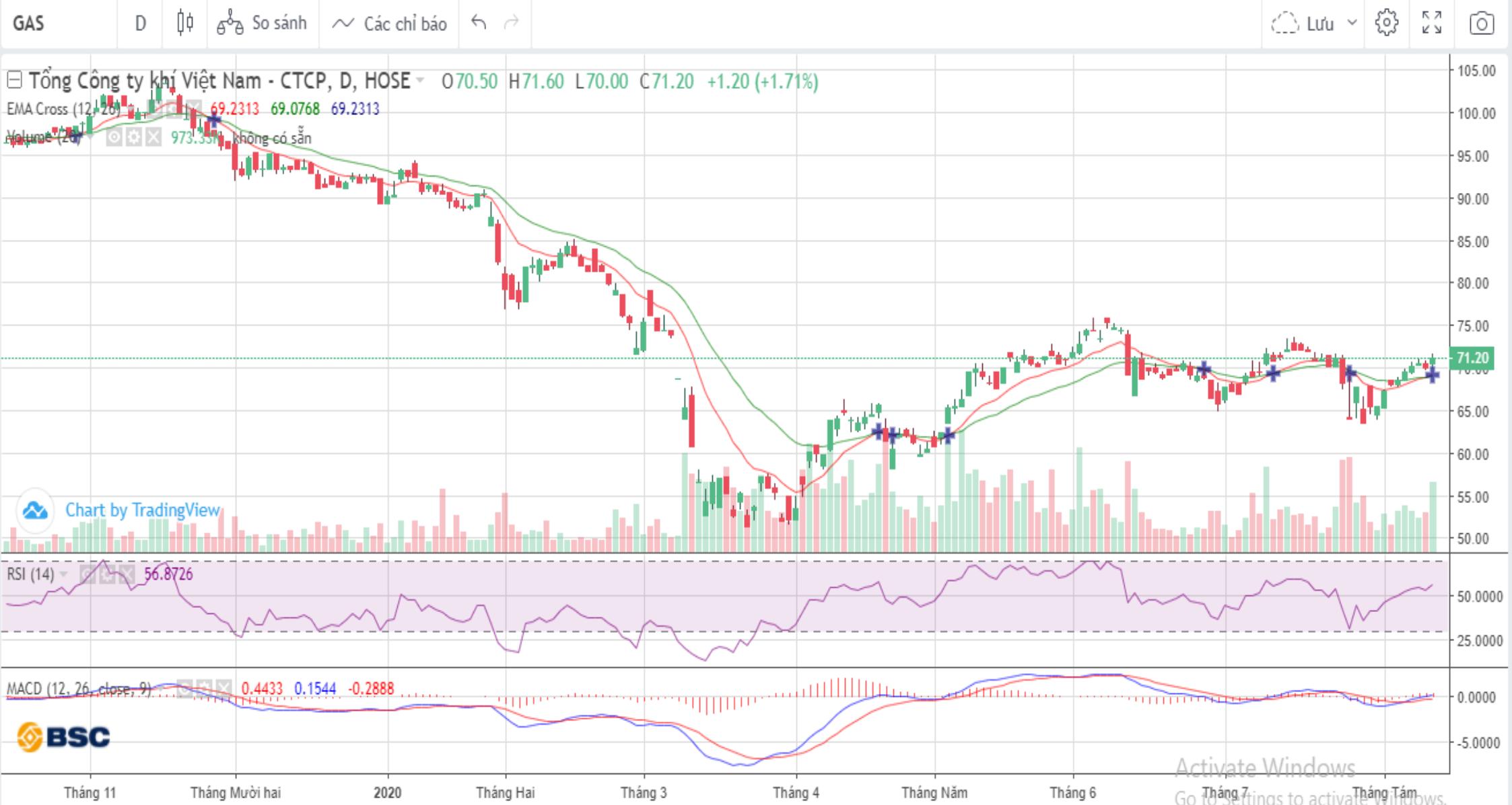 Cổ phiếu tâm điểm ngày 13/8: FPT, GAS, DPM - Ảnh 2.
