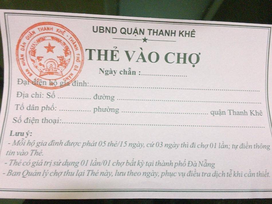 Cận cảnh lần đầu người dân Đà Nẵng dùng thẻ đi chợ - Ảnh 7.