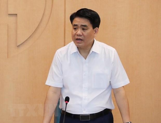 Tạm đình chỉ công tác Chủ tịch UBND thành phố Hà Nội Nguyễn Đức Chung - Ảnh 1.