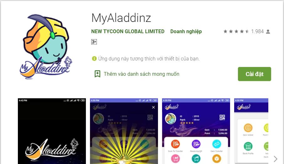 Công an cảnh báo ứng dụng đa cấp Myaladdinz lừa đảo - Ảnh 1.