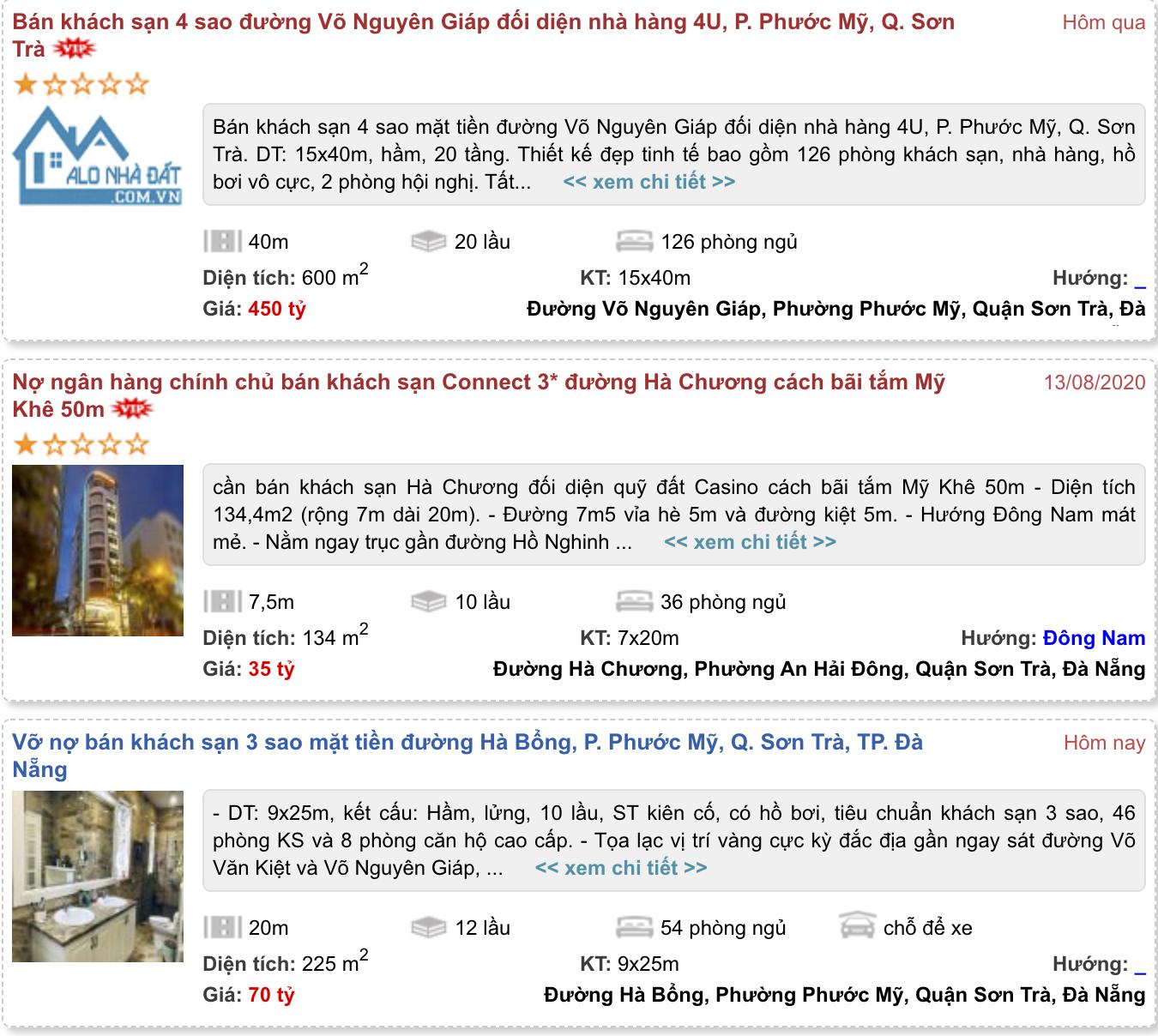 'Cú đấm bồi' COVID-19 khiến khách sạn 4 sao ở Đà Nẵng cũng rao bán - Ảnh 3.