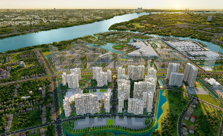 Coteccons, Hoà Bình và Central cùng khởi công phân khu 2 dự án Vinhomes Grand Park - Ảnh 1.