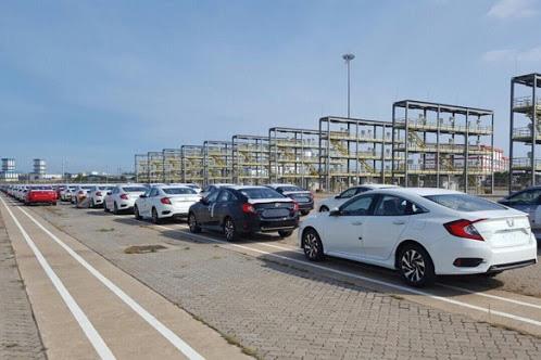 Lượng ô tô nhập khẩu tăng mạnh trong tháng 7