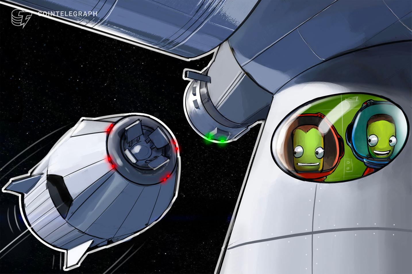 Giao dịch bitcoin đầu tiên ngoài không gian (nguồn: CoinTelegraph)