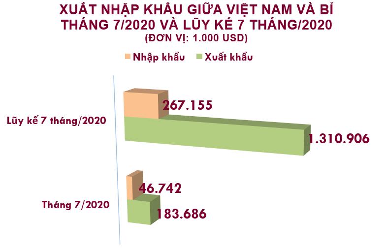 Xuất nhập khẩu Việt Nam và Bỉ tháng 7/2020: Xuất khẩu giày dép giảm 15% so với tháng trước - Ảnh 2.