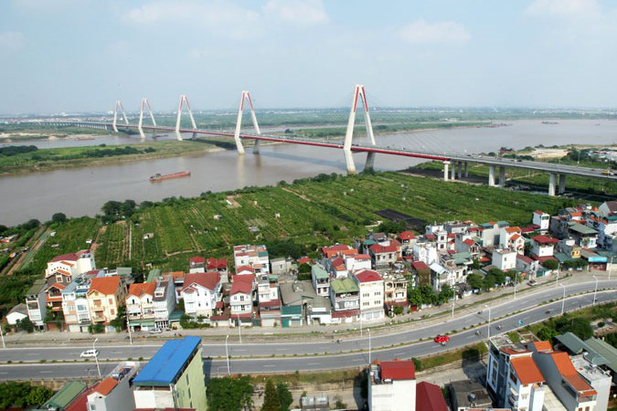 Hà Nội tập trung phát triển nhà cao tầng khu vực Bắc sông Hồng