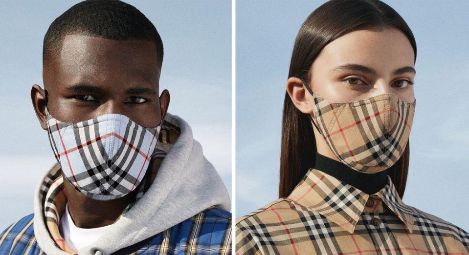 Hãng thời trang Burberry bán khẩu trang cao cấp giá 2,7 triệu đồng - Ảnh 1.