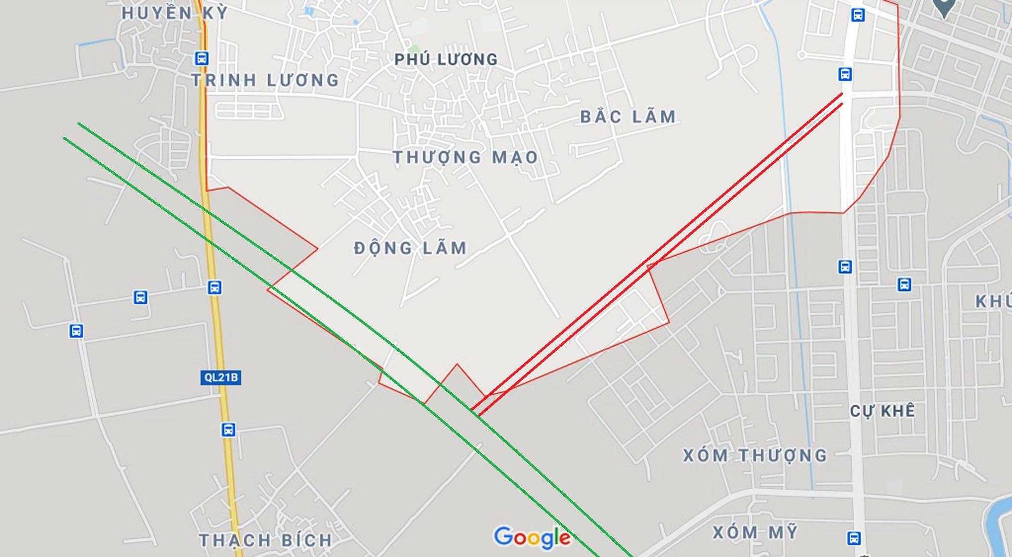 đường sẽ mở theo qui hoạch ở phường Phú Lương, Hà Đông, Hà Nội - Ảnh 2.