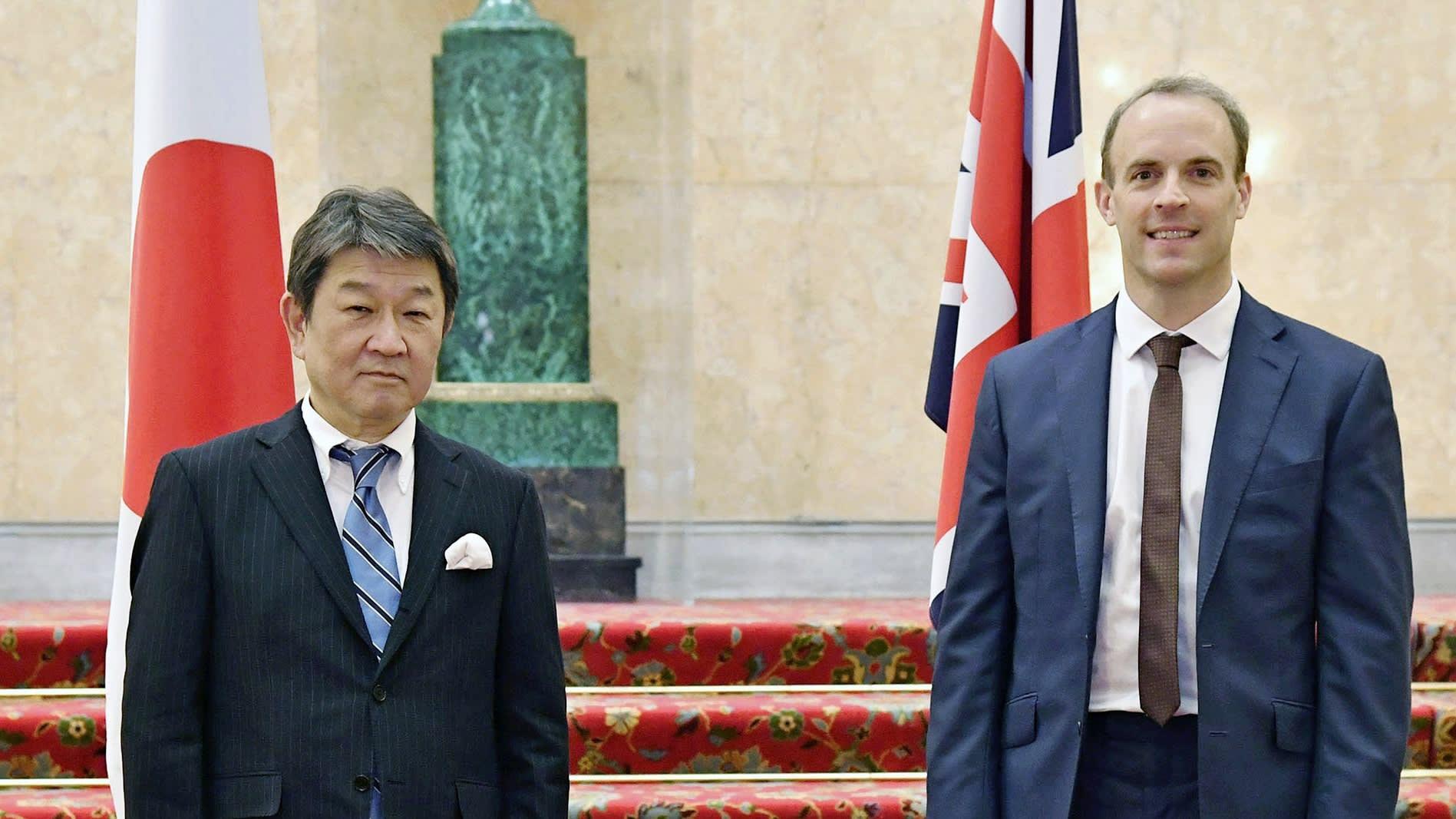 Anh kí hiệp định thương mại đầu tiên sau khi chia tay Brexit - Ảnh 1.