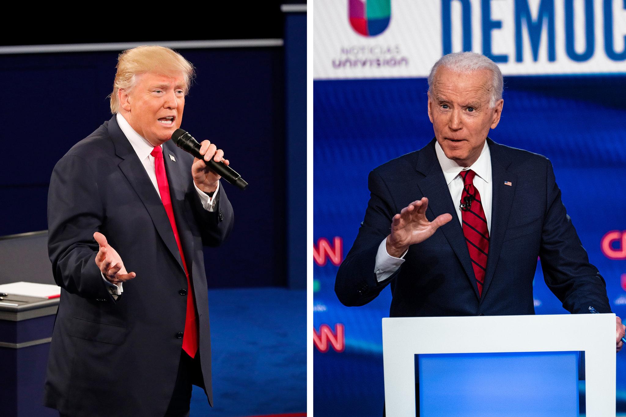 Ông Trump đề nghị xét nghiệm ma túy trước khi tranh luận vì nghi ngờ thành tích của ông Biden - Ảnh 2.