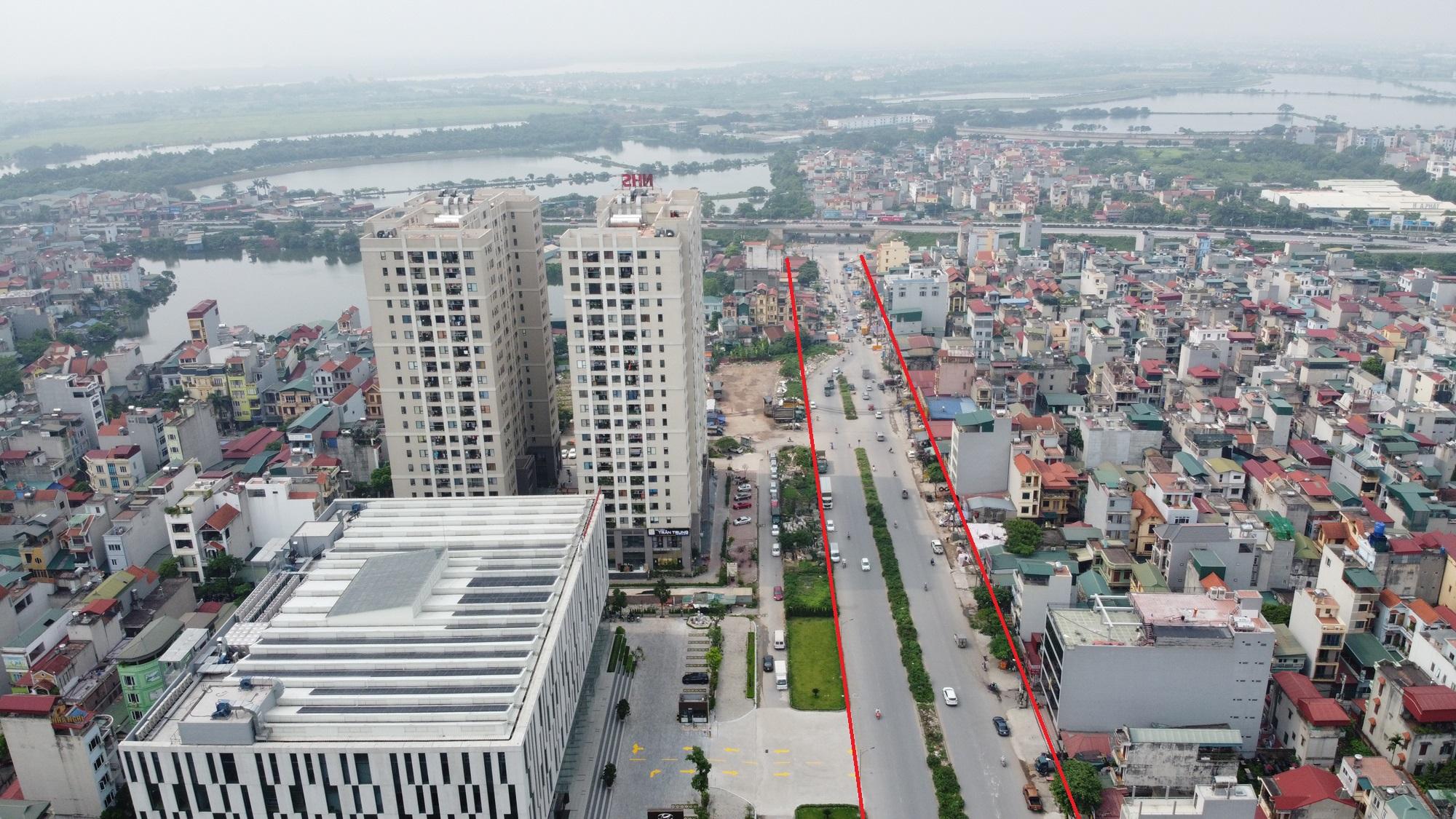 đường sẽ mở theo qui hoạch ở phường Yên Sở, Hoàng Mai, Hà Nội - Ảnh 3.