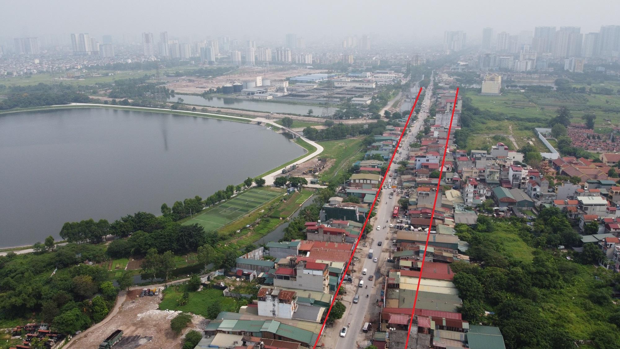 đường sẽ mở theo qui hoạch ở phường Yên Sở, Hoàng Mai, Hà Nội - Ảnh 7.