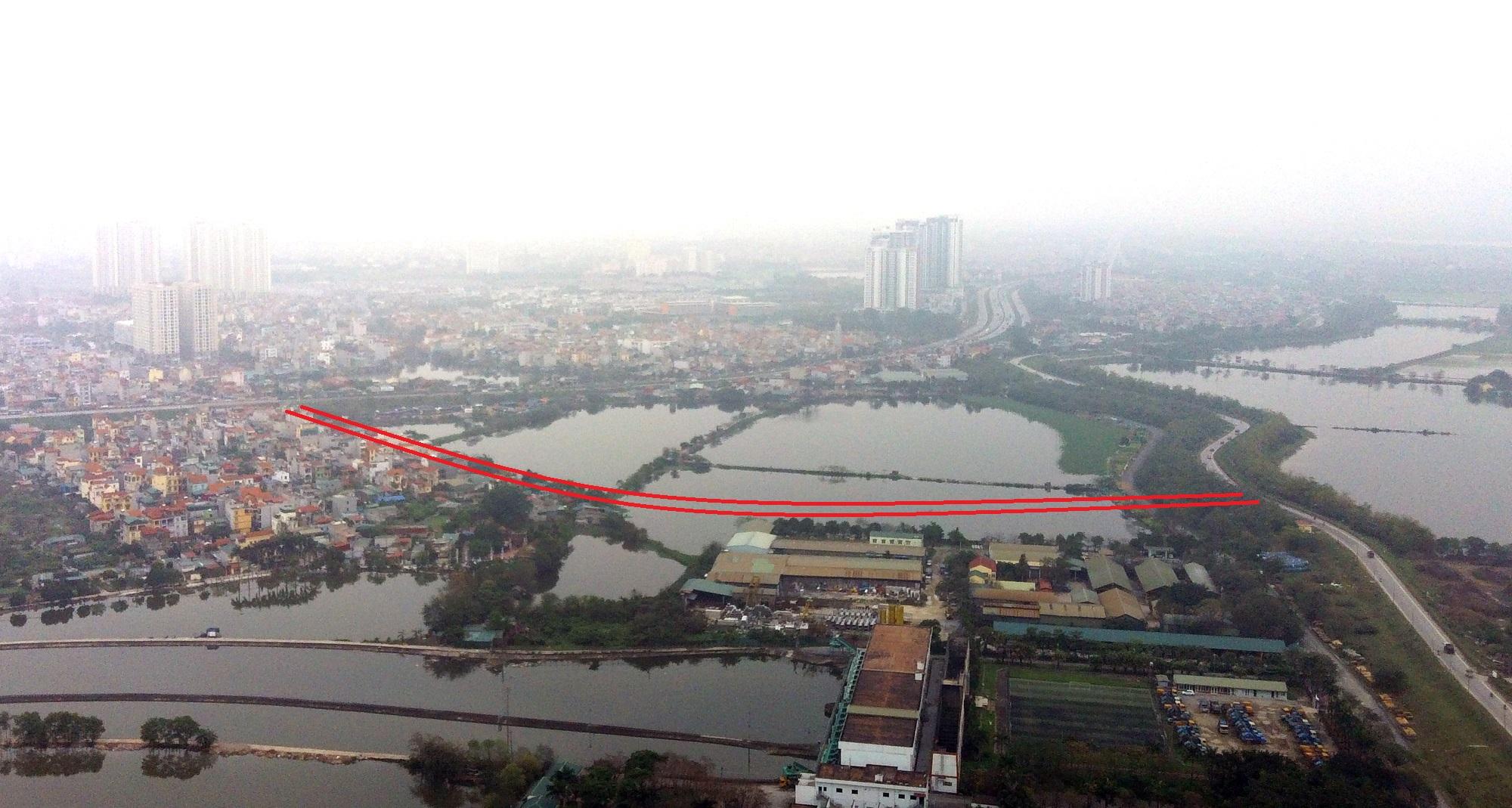 đường sẽ mở theo qui hoạch ở phường Yên Sở, Hoàng Mai, Hà Nội - Ảnh 11.