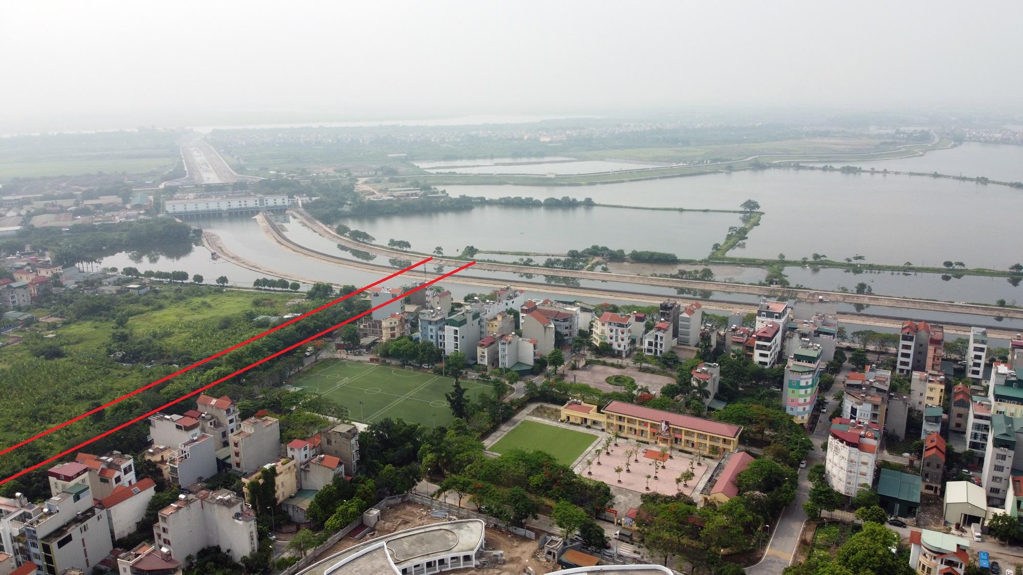 đường sẽ mở theo qui hoạch ở phường Yên Sở, Hoàng Mai, Hà Nội - Ảnh 13.