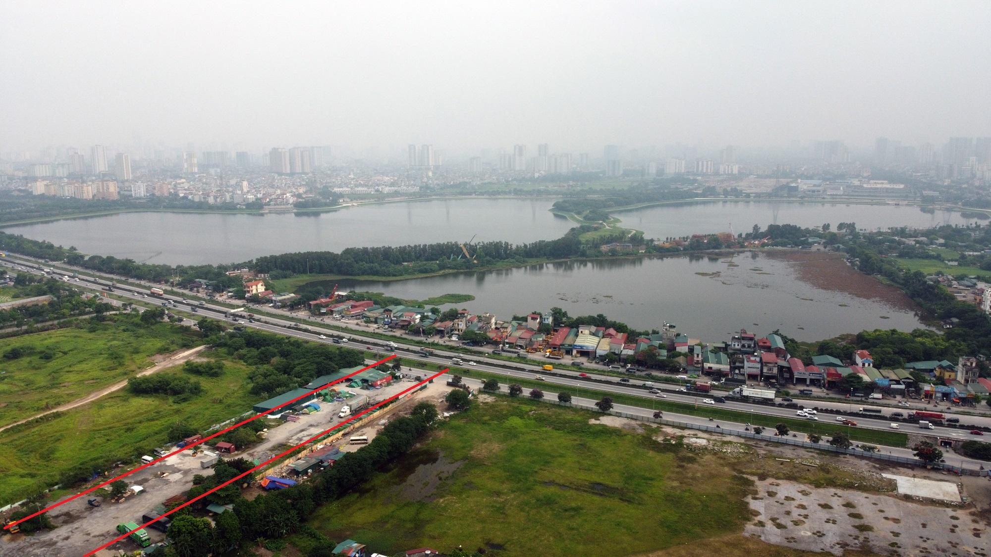 đường sẽ mở theo qui hoạch ở phường Yên Sở, Hoàng Mai, Hà Nội - Ảnh 17.