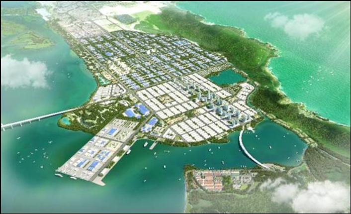 Bình Định xây dựng Khu công nghiệp đô thị Nhơn Hội hơn 3.500 ha - Ảnh 1.
