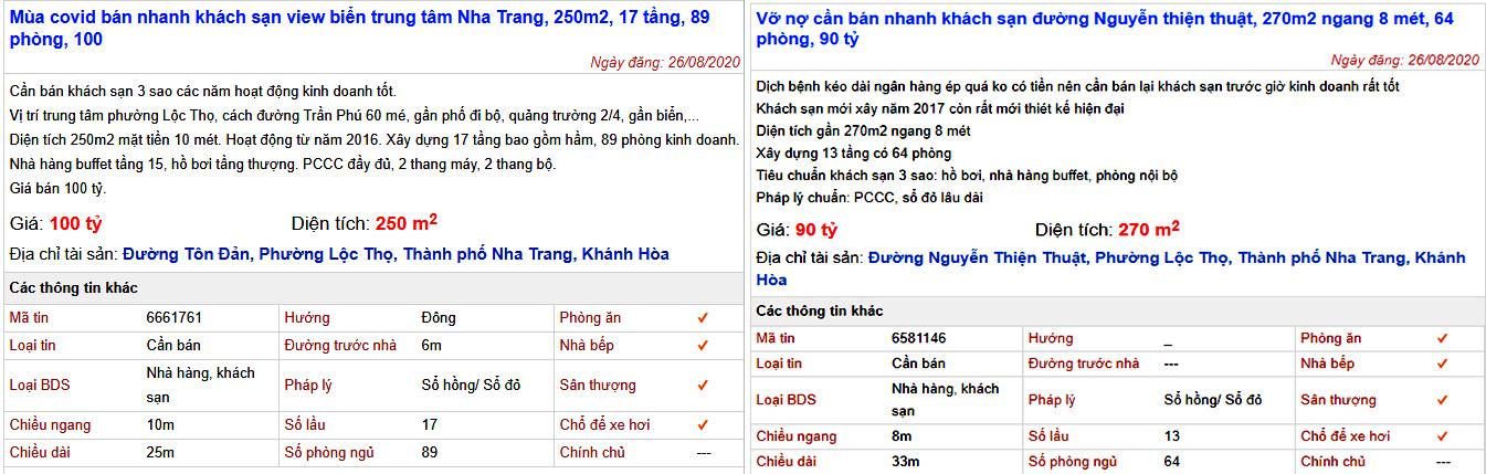 Nha Trang: Vắng khách hàng loạt khách sạn rao bán cắt lỗ - Ảnh 2.