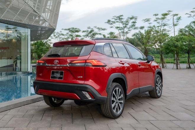 Toyota Corolla Cross mở bán tại Việt Nam, giá từ 720 triệu đồng - Ảnh 4.