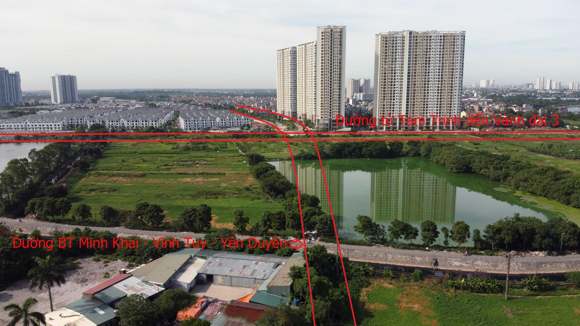 Những con đường đưa loạt chung cư, biệt thự ra 'mặt tiền' ở phường Trần Phú, Yên Sở - Ảnh 9.
