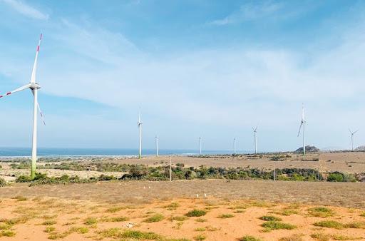 Doanh nghiệp Thái Lan quan tâm tới nhà máy Điện gió Ninh Thuận - Ảnh 1.