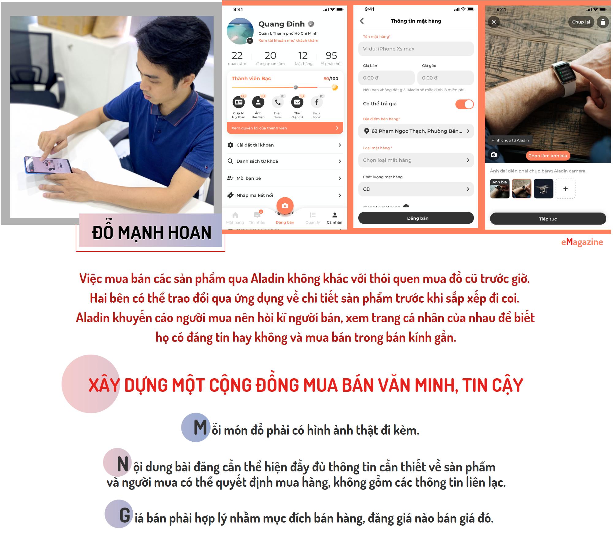 [eMagazine] Aladin - Ứng dụng mua bán đồ cũ cho cộng đồng người Việt - Ảnh 9.