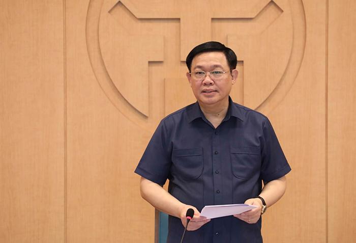 Hà Nội thực hiện giãn cách xã hội với một số khu vực nguy cơ cao - Ảnh 1.