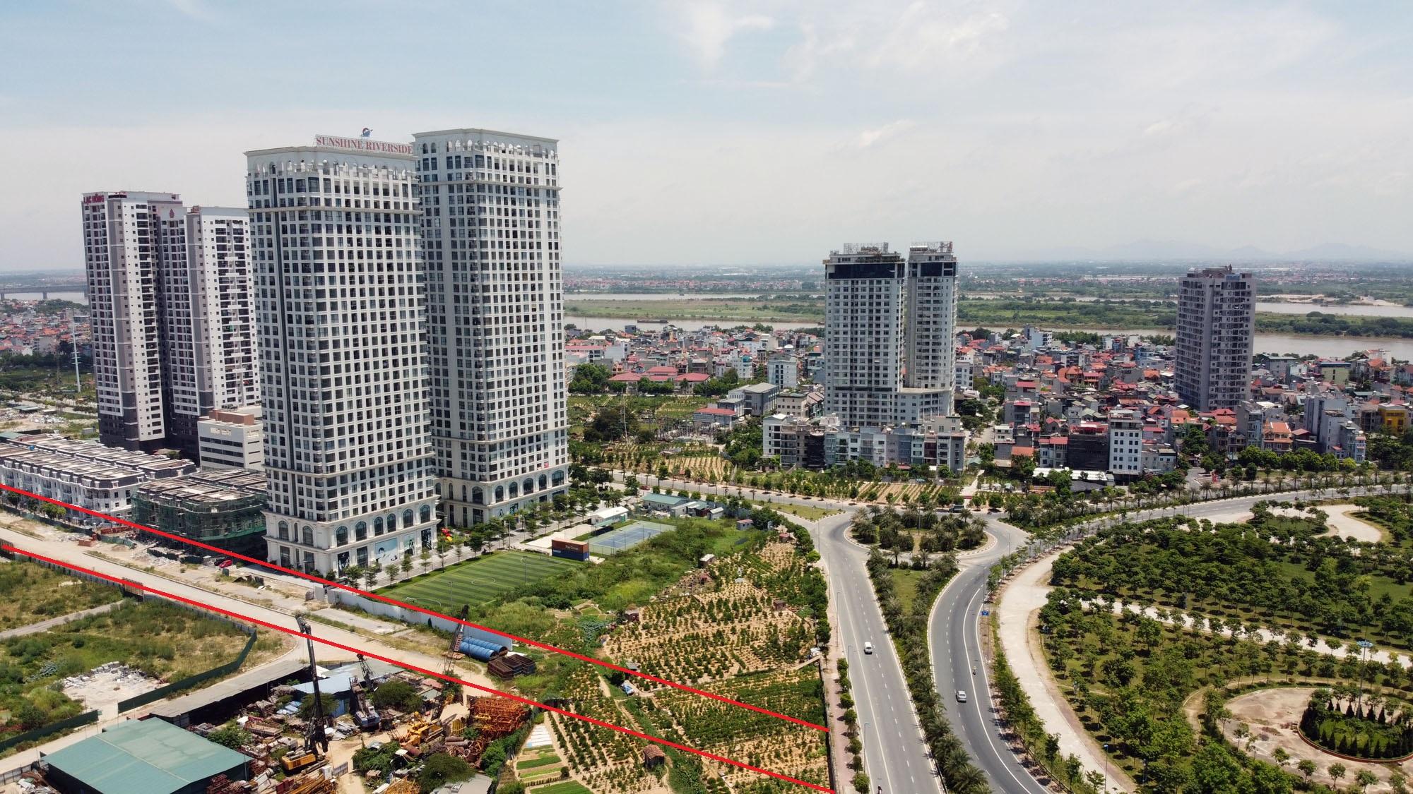 đường sẽ mở theo qui hoạch ở phường Phú Thượng, Tây Hồ, Hà Nội - Ảnh 11.