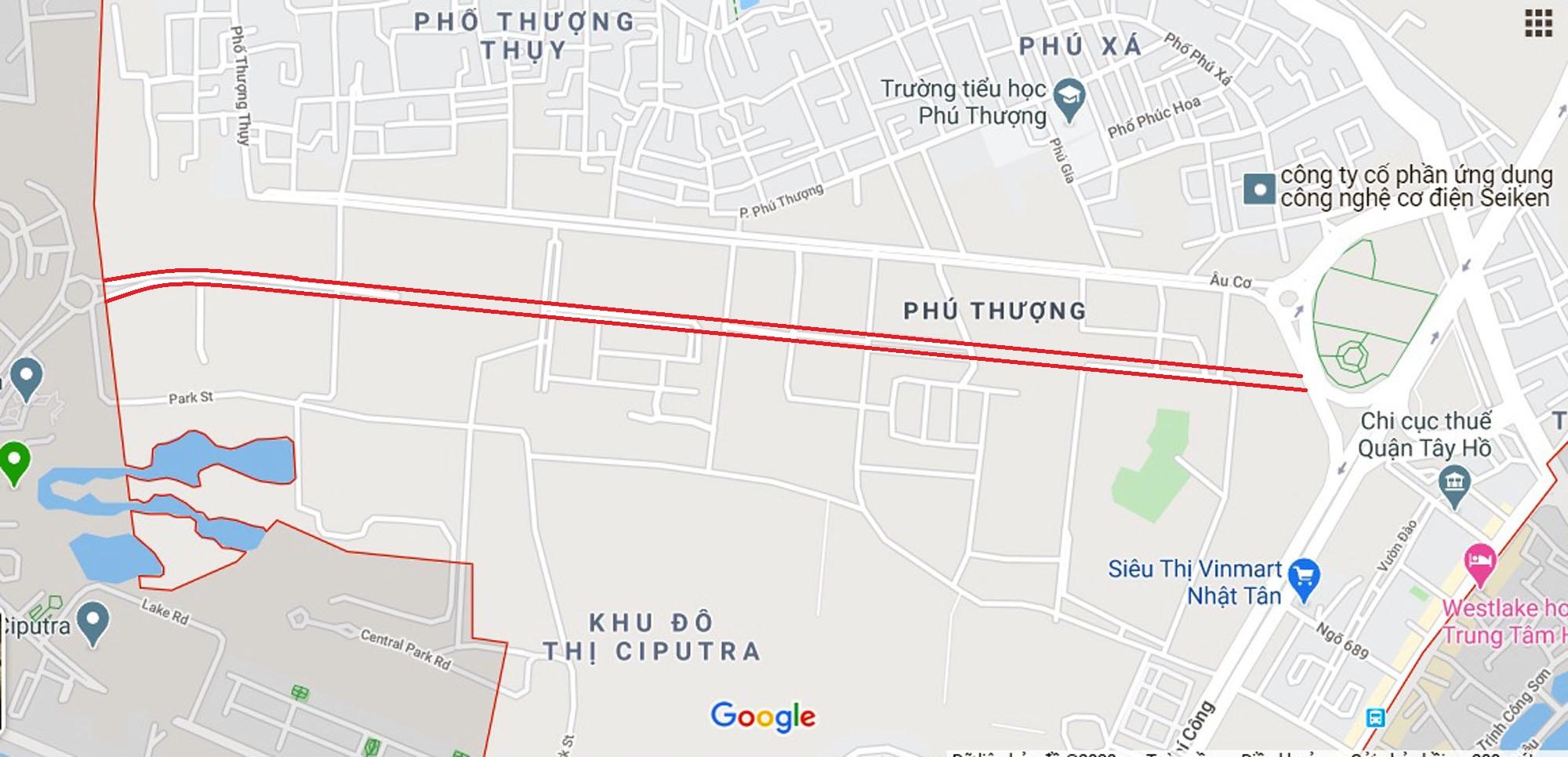 đường sẽ mở theo qui hoạch ở phường Phú Thượng, Tây Hồ, Hà Nội - Ảnh 10.