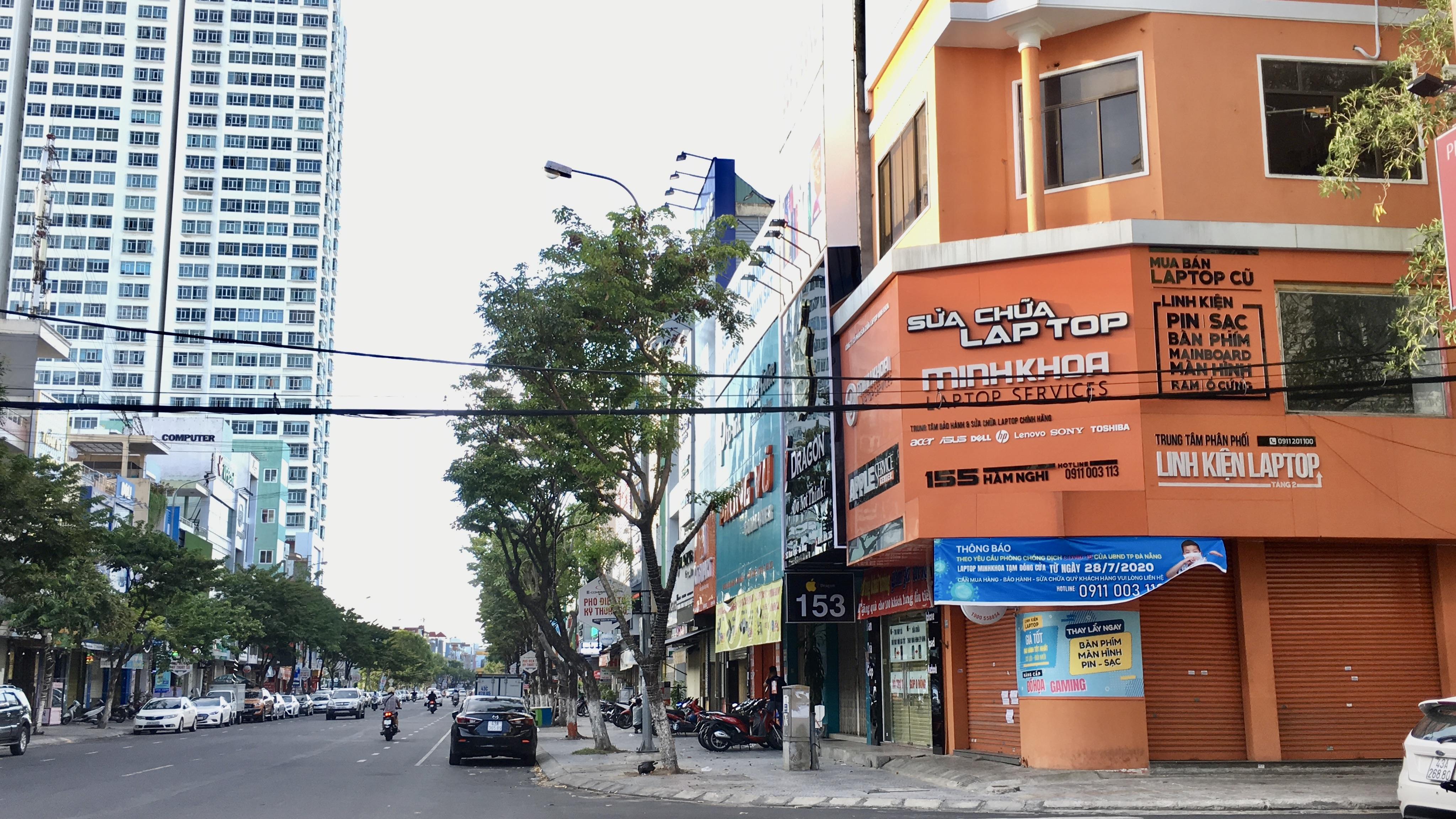 Cho thuê, sang nhượng mặt bị 'ế' ở các tuyến phố chuyên doanh lớn Đà Nẵng khi dịch COVID-19 phức tạp - Ảnh 10.