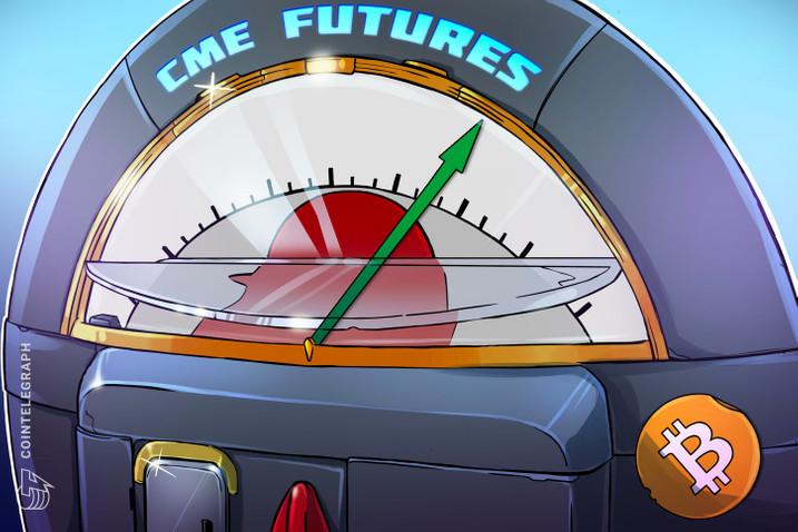 Hợp đồng tương lai bitcoin trên CME vừa đạt kỉ lục mới về số hợp đồng mở (Nguồn: CoinTelegraph)