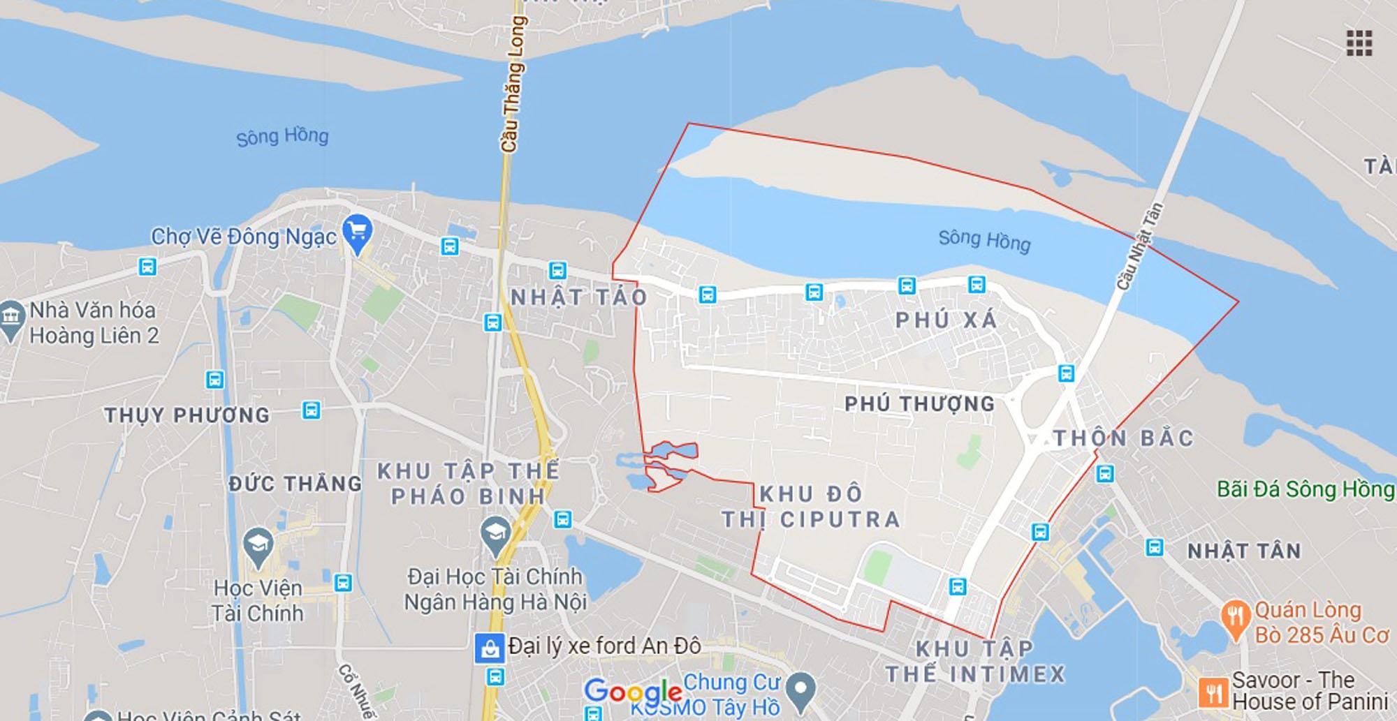 đường sẽ mở theo qui hoạch ở phường Phú Thượng, Tây Hồ, Hà Nội - Ảnh 1.