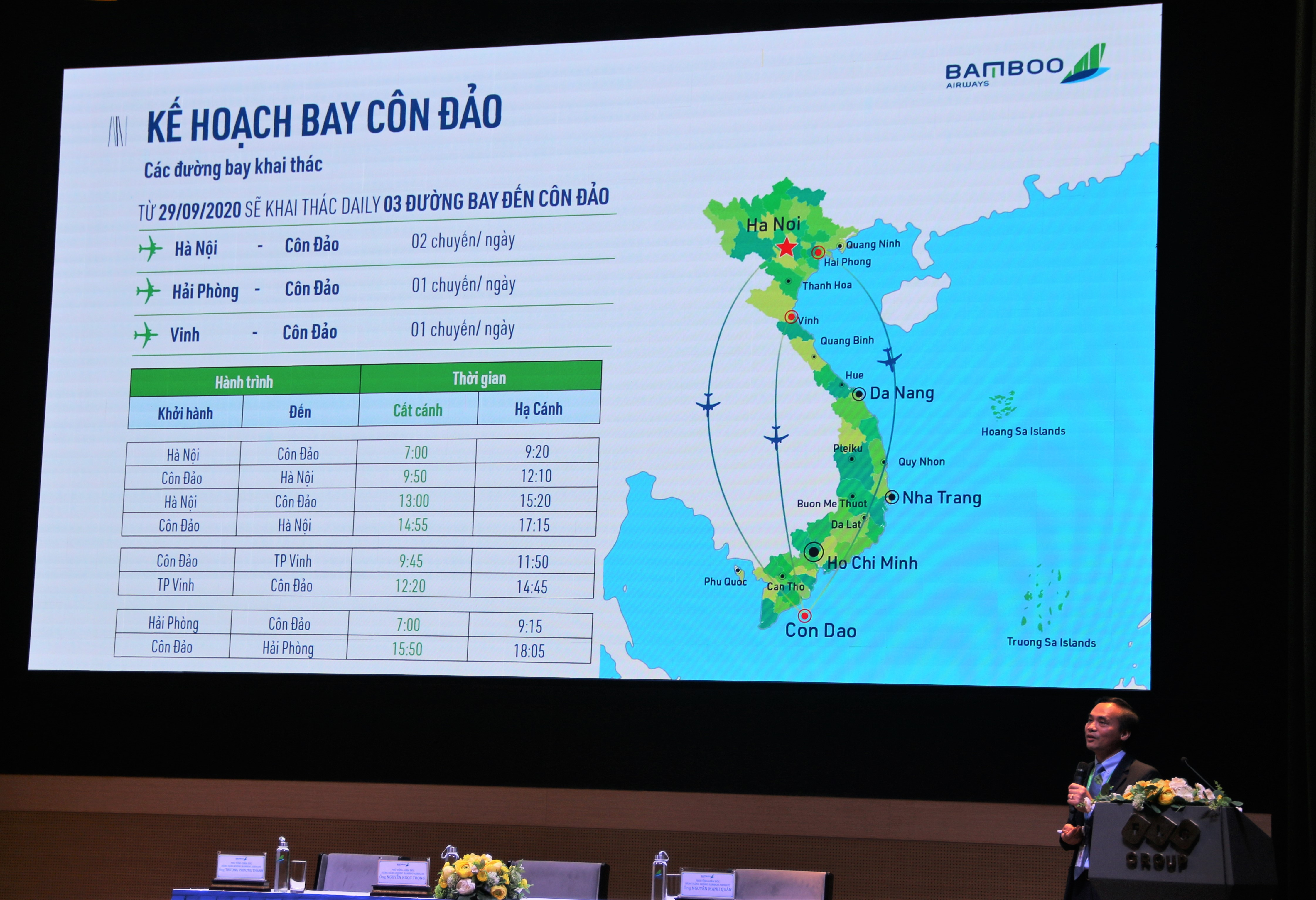 Tính toán của Bamboo Airways khi mở cùng lúc ba đường bay tới Côn Đảo - Ảnh 1.