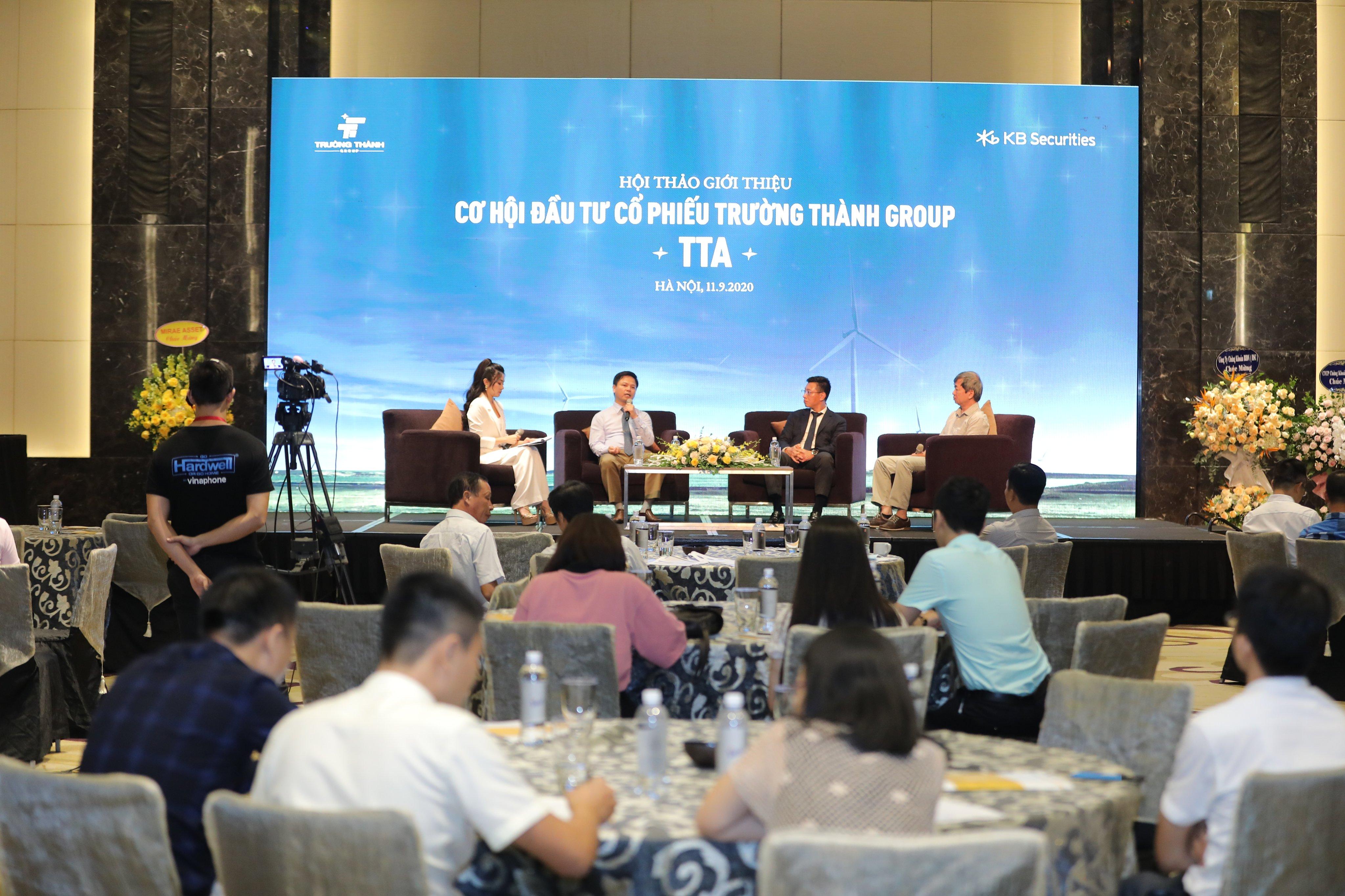 CEO Trường Thành Group (TTA): Đưa cổ phiếu lên sàn để tìm đối tác tốt đồng hành cùng các dự án rất lớn sắp tới - Ảnh 1.