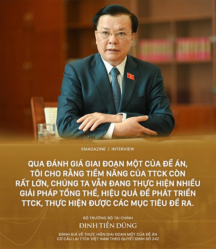 [eMagazine] Bộ trưởng Đinh Tiến Dũng: Không vì mục tiêu nâng hạng mà đánh đổi an toàn hệ thống tài chính quốc gia (bài backup) - Ảnh 3.