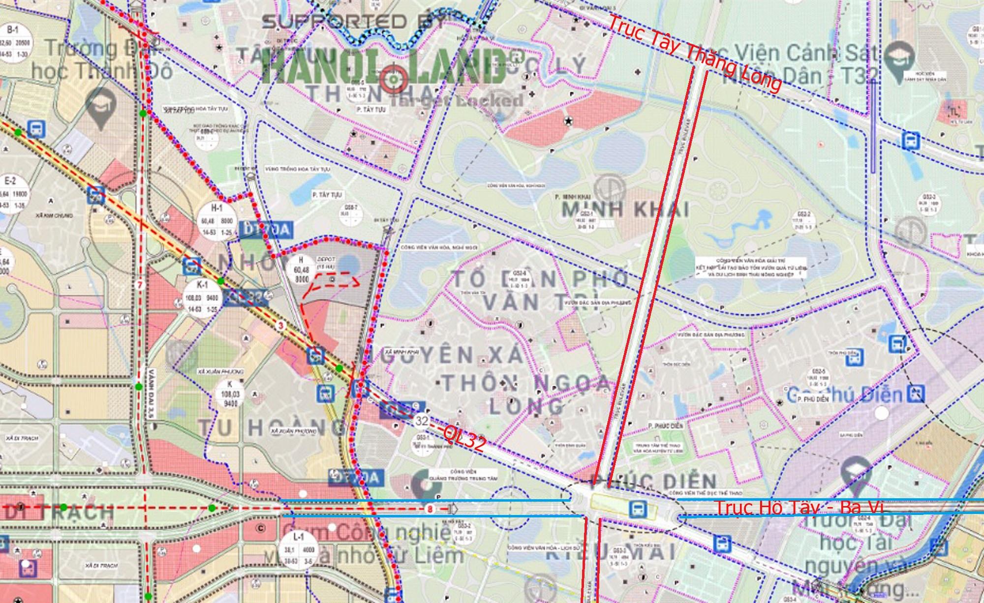 Đường sẽ mở theo qui hoạch ở Hà Nội: Toàn cảnh đường nối trục Tây Thăng Long đến gần Vành đai 4 - Ảnh 5.